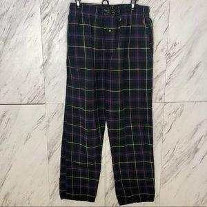3/$60 Polo Ralph Lauren Plaid Pajama Pants SZ M